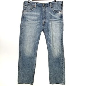 Levi's 34 29 Jeans 501 Button Fly